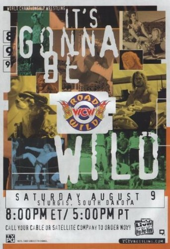 World Championship Wrestling 壁纸 with 日本动漫 titled WCW Road Wild 1997