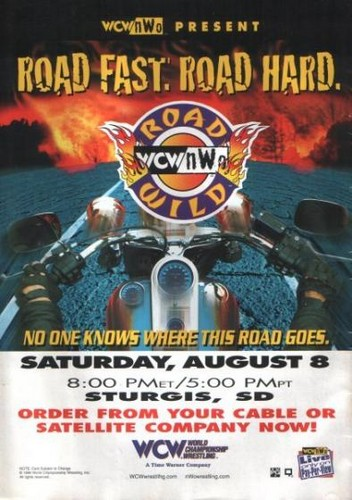 World Championship Wrestling hình nền containing anime titled WCW Road Wild 1998
