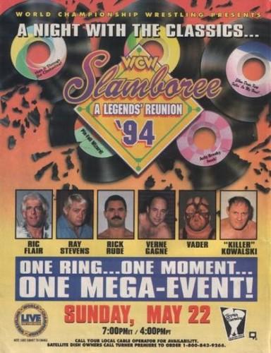 World Championship Wrestling वॉलपेपर containing ऐनीमे entitled WCW Slamboree 1994