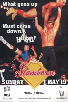 World Championship Wrestling 壁纸 with 日本动漫 titled WCW Slamboree 1996