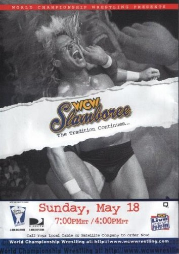 World Championship Wrestling 壁纸 with 日本动漫 titled WCW Slamboree 1997