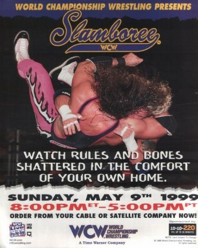 World Championship Wrestling hình nền possibly with anime called WCW Slamboree 1999