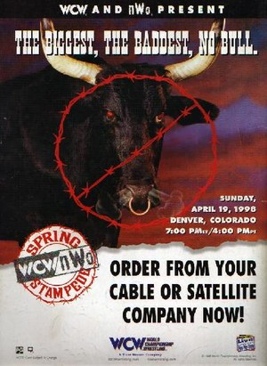 WCW Spring Stampede 1998