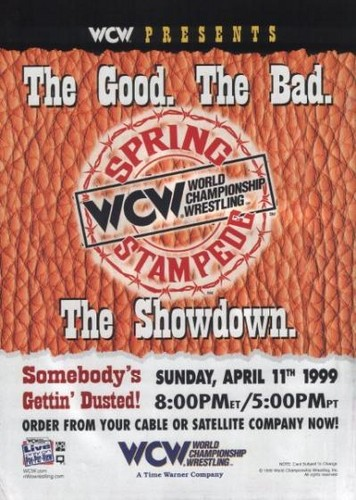 World Championship Wrestling پیپر وال titled WCW Spring Stampede 1999