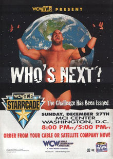 World Championship Wrestling wallpaper containing anime entitled WCW Starrcade 1998