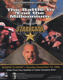 World Championship Wrestling 壁纸 containing 日本动漫 called WCW Starrcade 1999