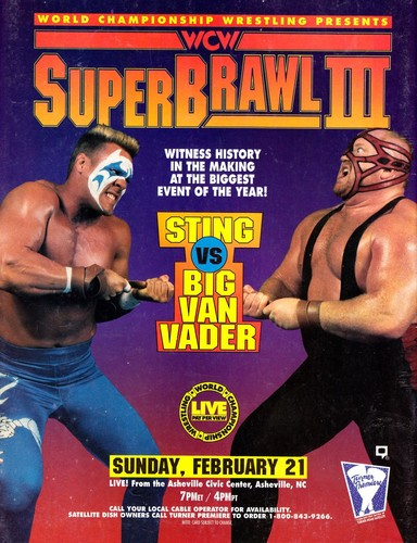 World Championship Wrestling 壁纸 containing 日本动漫 entitled WCW Superbrawl 1993