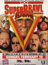World Championship Wrestling hình nền with anime called WCW Superbrawl 1995