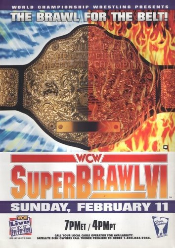 World Championship Wrestling hình nền possibly with anime called WCW Superbrawl 1996