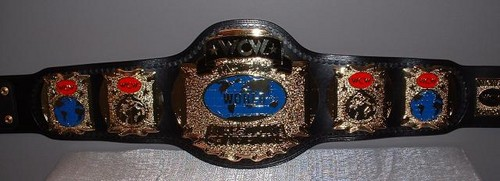 World Championship Wrestling Hintergrund entitled WCW Tag Teams Championship gürtel (1'st Generation)
