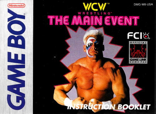 World Championship Wrestling Hintergrund containing Anime called WCW The Main Event