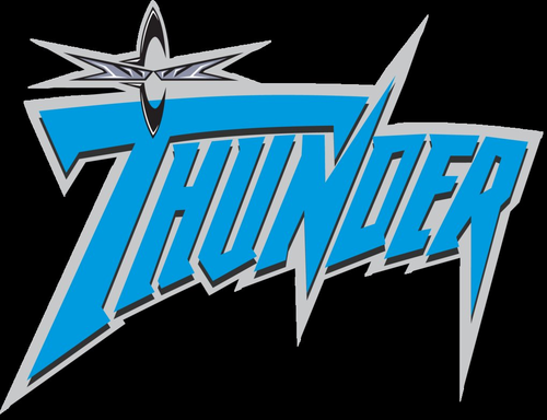 World Championship Wrestling kertas dinding entitled WCW Thunder Logo