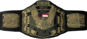 WCW United States Heavyweight Championship 带, 皮带