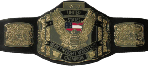 World Championship Wrestling Hintergrund titled WCW United States Heavyweight Championship gürtel