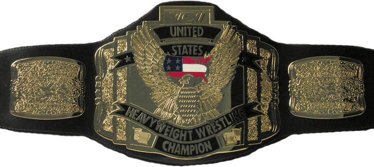 WCW United States Heavyweight Championship بیلٹ, پٹی