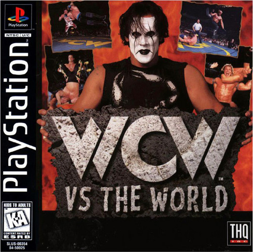World Championship Wrestling kertas dinding with Anime titled WCW V.S. The World