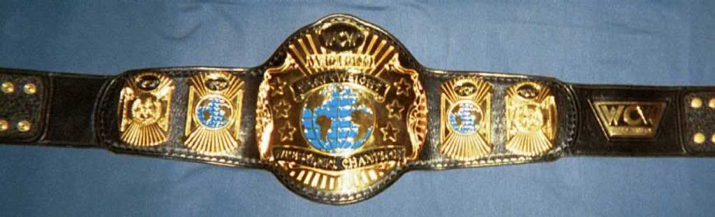 WCW World Heavyweight Championship cinto, correia