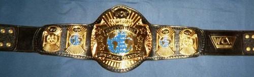 World Championship Wrestling Hintergrund called WCW World Heavyweight Championship gürtel
