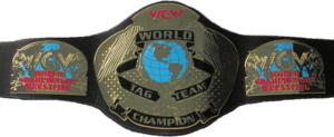 WCW World Tag Team Championship sabuk (2'nd Generation)