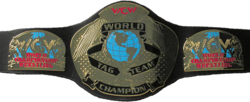 World Championship Wrestling 壁纸 titled WCW World Tag Team Championship 带, 皮带 (2'nd Generation)