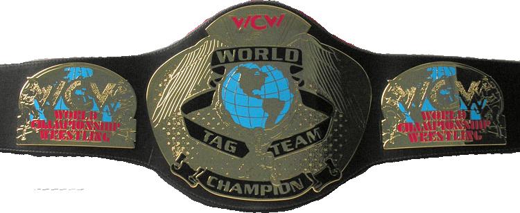 WCW World Tag Team Championship cinturón, correa (2'nd Generation)