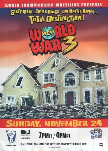 World Championship Wrestling hình nền with anime called WCW World War 3 1996