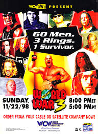 World Championship Wrestling 壁纸 possibly with 日本动漫 titled WCW World War 3 1998