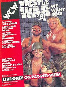 WCW Wrestle War 1991