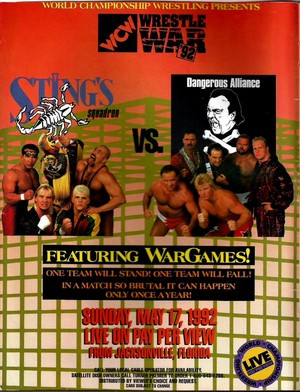 WCW Wrestle War 1992
