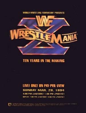 WWF WrestleMania X Poster