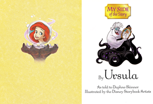 Walt Disney کتابیں - The Little Mermaid: My Side of the Story (Ursula)