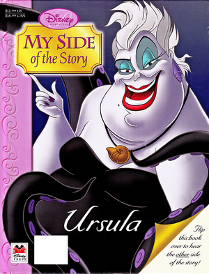 Walt Disney vitabu - The Little Mermaid: My Side of the Story (Ursula)