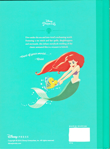 personajes de walt disney fondo de pantalla probably containing a sign and anime entitled Walt disney Book Scans - The Little Mermaid: The Story of Ariel (English Version)