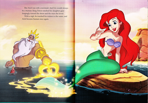 Walt Disney Book Scans - The Little Mermaid: The Story of Ariel (English Version)