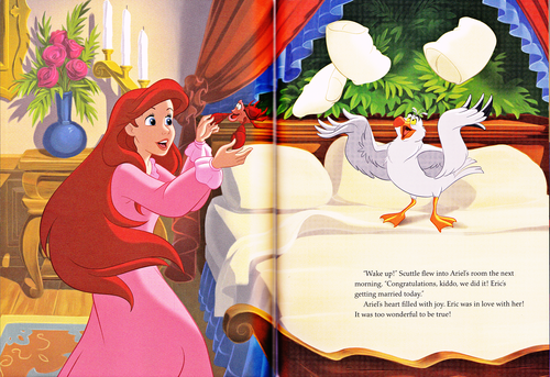 Walt Disney Characters achtergrond called Walt Disney Book Scans - The Little Mermaid: The Story of Ariel (English Version)
