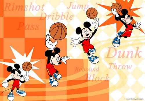 Walt Disney Characters karatasi la kupamba ukuta entitled Walt Disney Tablet karatasi za kupamba ukuta - Mickey panya, kipanya