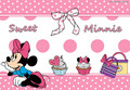 Walt Disney Tablet Hintergründe - Minnie maus