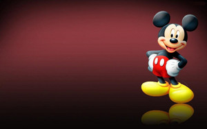 Walt Disney wallpaper - Mickey topo, mouse