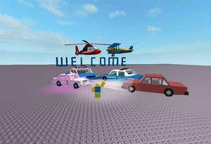 Welcome photo! Not spamming but (Roblox used)
