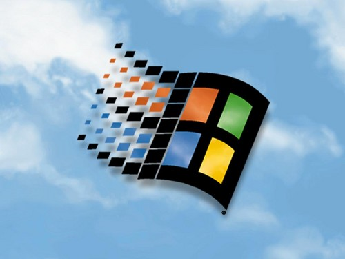 Random wallpaper called Windows 98 wallpaper
