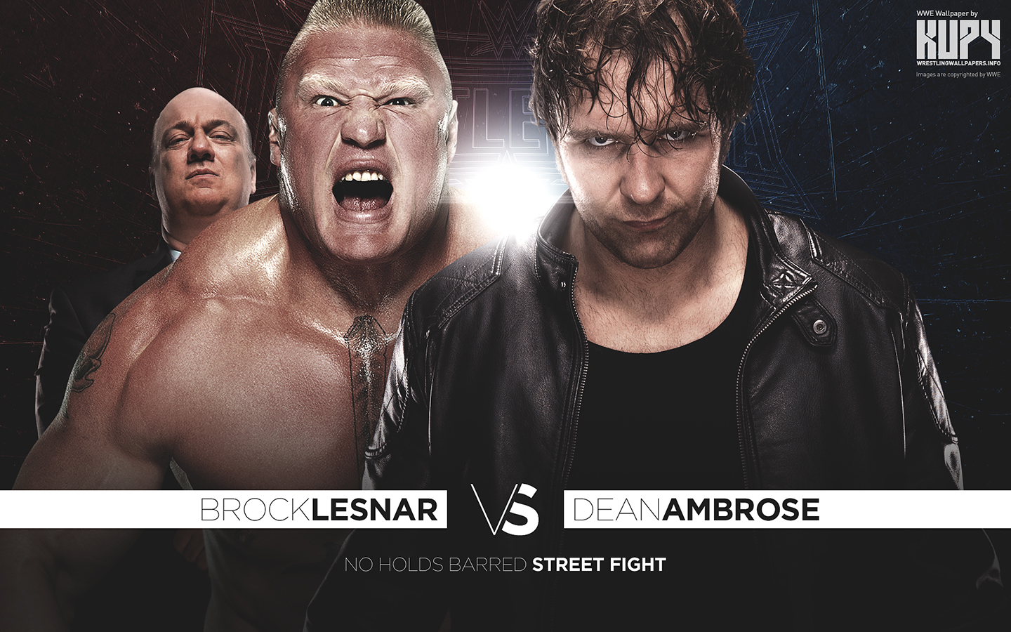 wrestlemania 32 brock lesnar vs dean ambrose wwe
