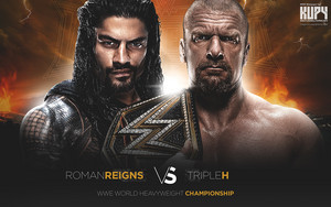 Wrestlemania 32 - Triple H vs Roman Reigns
