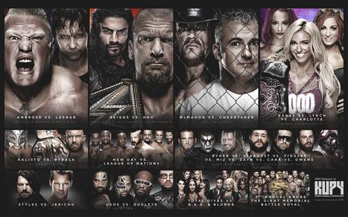 WWE kertas dinding titled Wrestlemania 32