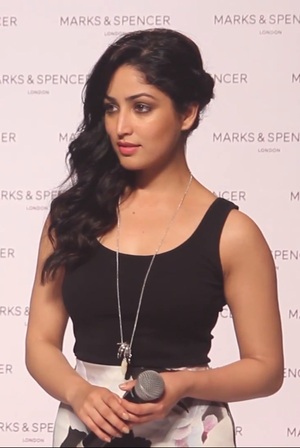 Yami Gautam at Marks and Spencers