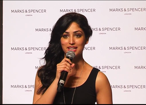 Yami Gautam at Marks and Spencers