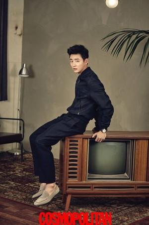 Yoon Shi Yoon for 'Cosmopolitan'