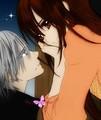 Zero And Yuuki - vampire-knight-yuki-zero fan art