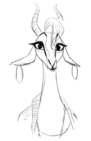 Zootopia - Early Gazelle Concept Art