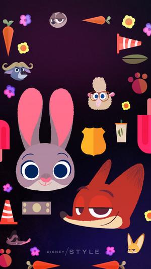 Zootopia Phone wallpaper