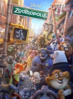 Zootropolis UK Poster
